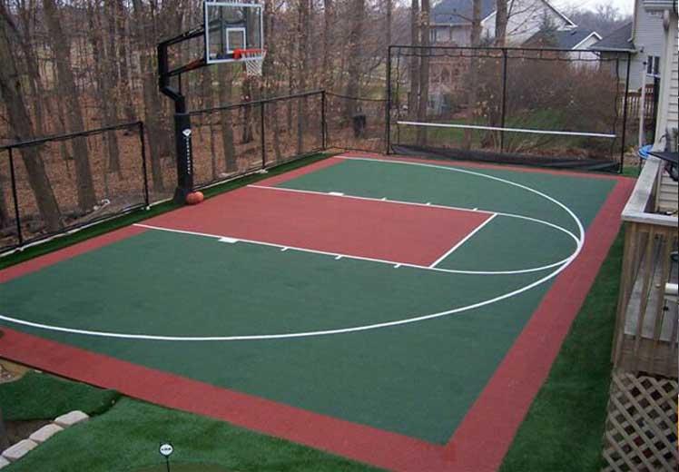 Amazing Backyard Court