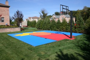 Nice Backyard Court