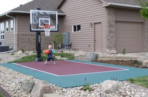 Small Basket Court in Minneapolis