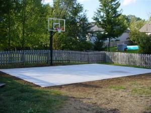 Simply Basket in Backyard